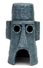 SPONGEBOB SHOW SQUIDWARD'S EASTER ISLAND HOME AQUARIUM DECORATION ORNAMENT.