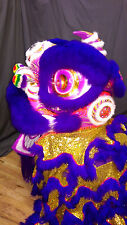 Modern Futshan style lion dance costume - Purple