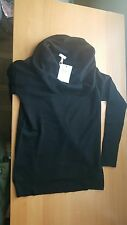 Joie NWT $348 Arlie Wool & Cashmere Blend Pullover Sweater Black XS