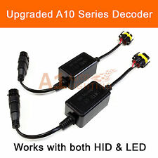 2x EMC H11 Headlight Canbus LED Decoder HID Kit Warning Canceller Anti-Flicker