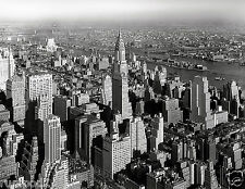 Vintage Black and White Photo Poster/PrintNew York/1932/City Sky/17x22 inches