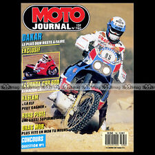 MOTO JOURNAL N°780 RON HASLAM ★ HONDA CBR 600 F ★ GUZZI V75 750 SUPERMOTARD 1987
