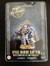 Warhammer 40,000 BNIB Limited Edition Web Exclusive Space Marine Captain #1