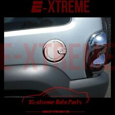 FOR 02 03 2004 2005 06 2007 JEEP LIBERTY CHROME GAS TANK FUEL DOOR COVER