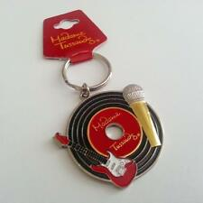 Madame Tussauds Metal Music Vinyl LP Record Keychain NEW