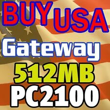 512MB Gateway 450E Notebook 450ROG 450X 600S MEMORY RAM