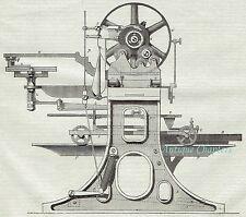 1876 W R Lake Patent Pantograph Engraving Machine 3 Page Article A305