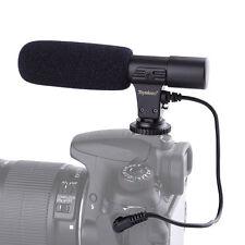 Professional Shotgun Condenser D-SLR Camera Microphone for Canon Nikon MIC01