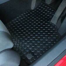 Fiat Punto Evo 2010+ Fully Tailored 4 Piece Rubber Car Mat Set with 2 Clips