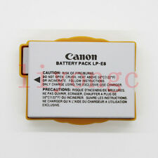 Original authentic LP-E8 Battery fr Canon EOS Rebel 700D 650D T2i T3i T4i T5i