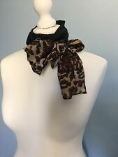 LADIES NECK SCARF 100% SILK SCARF HEAD HAIR SCARF 50S ROCKABILLY SCARF PIN UP
