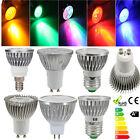 GU10/E27/MR16/E14 High Power 3 LED 3W Spotlicht Strahler Lampe Leuchte Glühbirne