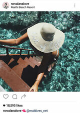 Out of Office Custom floppy sun beach hat