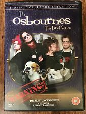 Ozzy Osbourne THE OSBOURNES: SEASON 1 ~ 2002 Comedy Series | 2-Disc UK DVD