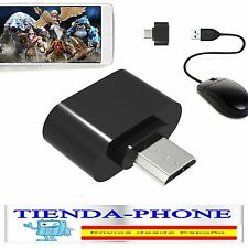 Cable Adaptador Host Otg USB Hembra A Micro USB Conecta PenDrive Al Movil Tablet