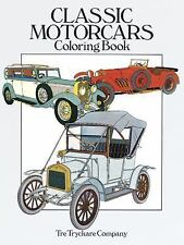Classic Motorcars Coloring Book (Dover History Coloring Book), Coloring Books, T