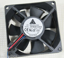 Delta AFB0812SH 80x80x25mm 8025 12V 0.51A 46CFM DC Brushless Cooling Fan 1pc