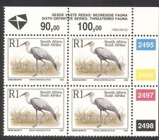 South Africa (RSA) 1993 Crane/Birds/Nature/Wildlife/Conservation c/b (za10094)