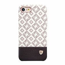 Apple iPhone 7 Schutz Hülle Tasche Nillkin Oger PU and PC Case Ivory White