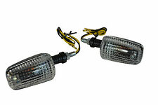 Universal Pair of 21W Carbon Look Halogen Indicators For Motorbikes Motorcycles
