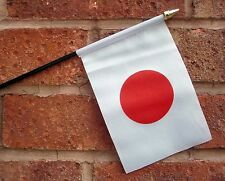 "JAPAN SMALL HAND WAVING FLAG 6""X4"" flags JAPANESE"