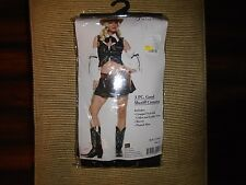 NIP 3 PIECE SIZE SML LADIESSEXY LEG AVENUE GOOD SHERIFF COWGIRL HALOWEEN COSTUME