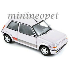 NOREV 185206 1989 RENAULT SUPERCINQ GT TURBO PH II 1/18 DIECAST MODEL CAR WHITE