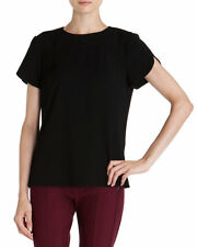 Ted Baker London NEW Black ARMOI Sweetheart Seam Structured Top US Size 10 / L