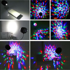 2 in 1 USB DJ Club Disco KTV Party Bar RGB Stage Effect Light LED Desk Lamp New