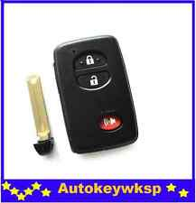 3 Button Remote Smart Key Case Shell Fob For Toyota 4Runner Land Cruiser Prius V