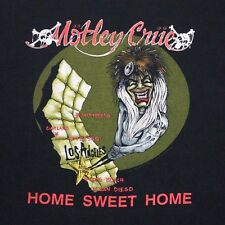 XL * thin vtg 1990 MOTLEY CRUE california tour dates t shirt * DR FEELGOOD