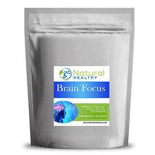 60 Brain Focus pills - L-Theanine, Vitamin B5, Iron, Magnesium, Caffeine, zinc.