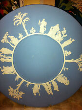 Lovely Blue Wedgewood Jasparware Roman Collectors Plate