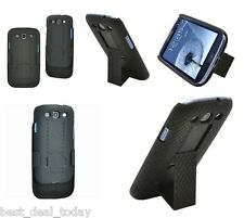 Verizon*OEM Shell Holster Combo Case For Samsung Galaxy S3 S 3 III SCH-I535 SIII