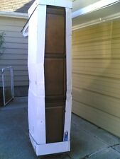 "Nib (w/ damage) ~ Nice Kitchen Pantry Tower Storage Cabinet 18""W x 84""H x24""D"