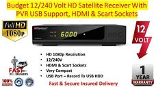 Budget Caravan Camping 12/240 Volt HD Satellite Receiver With PVR USB Support