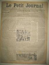 WW1 LA GUERRE JOUR PAR JOUR DU 1er AU 28 FEVRIER LE PETIT JOURNAL 1915