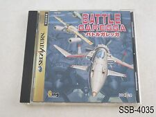 Battle Garegga Sega Saturn Japanese Import SS JP Japan Raizing US Seller B/Good
