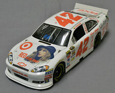 2012 JUAN MONTOYA #42 TARGET TAYLOR SWIFT RED CHEVY IMPALA CUSTOM ACTION 1/24