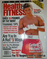 Health & Fitness Magazine Mario Lopez & Training Tips June/July 2002 030615R
