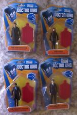 DOCTOR WHO BBC WAVE 3 LOT 4 FIGURES AMY POND 10TH AND 12TH DOCTORS ARTICULATED