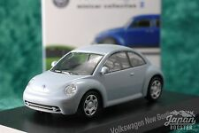 [KYOSHO 1/64] Volkswagen New Beetle Light Blue Minicar Collection 2
