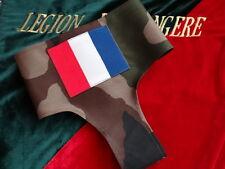 Légion Étrangère (Fr)-FOULARD MILITAIRE AVEC INSIGNE DE LA FRANCE (ECUSSON OPEX)