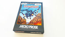 Micro prose gunship Commodore 64 c64 c-64 pal euro rare Game Disk Big Box
