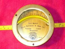 Vintage INCLOMETER for Boat/Marine,Sole Makers Bottomley Baird Glasgow London