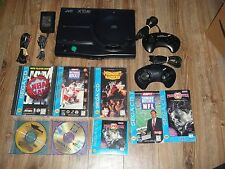 JVC X'Eye Sega Genesis CD Combo RARE with 6 Games Bundle *TESTED & WORKS GREAT*