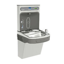 Elkay Lzs8wsvrsk Water Refilling Station, Wall Mount, Single, Vr Bubbler, Ss