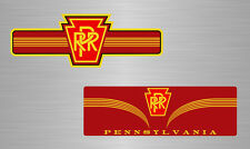 Pennsylvania Railroad PRR logo vinyl decals / stickers train Pennsy model steam