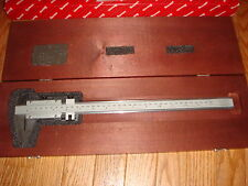 "Starrett 123 Series 14 Vernier Caliper,Steel 14"",Inside/Outside Measurements"