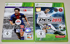 2 xbox 360 jeux Bundle-pes & FIFA 2013-football pro evolution soccer 2015